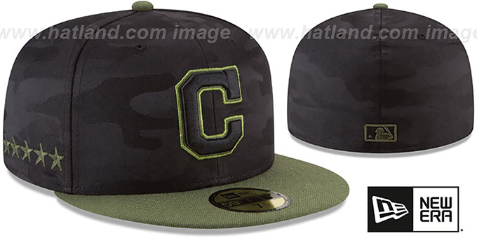cf43d7a1d9b0cd ... New Era. Indians 2018 MEMORIAL DAY 'STARS N STRIPES' Hat by ...
