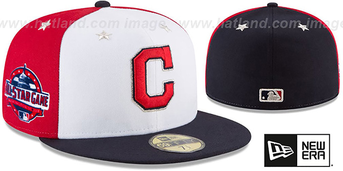 newest 9e9c0 ccd9f Indians  2018 MLB ALL-STAR GAME  Fitted Hat by ...