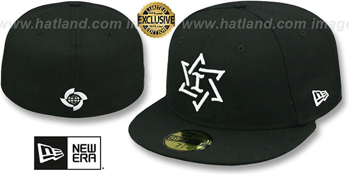 44949bafae43 Israel PERFORMANCE WBC Black-White Hat by New Era