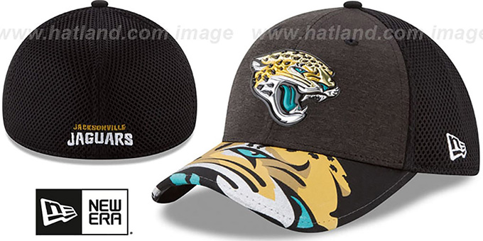 quality design aa5b6 8cb1a Jaguars  2017 NFL ONSTAGE FLEX  Hat by New Era