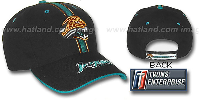 Jaguars 'CHAMP' Hat by Twins - black : pictured without stickers that these products are shipped with