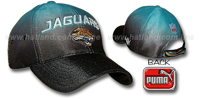 Jaguars 'ECLIPSE' Hat by Puma : pictured without stickers that these products are shipped with