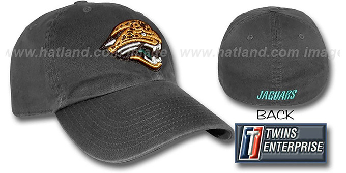 Jaguars 'FRANCHISE' Hat by Twins - black : pictured without stickers that these products are shipped with