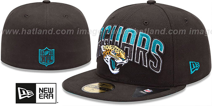 Jaguars 'NFL 2013 DRAFT' Black 59FIFTY Fitted Hat by New Era : pictured without stickers that these products are shipped with