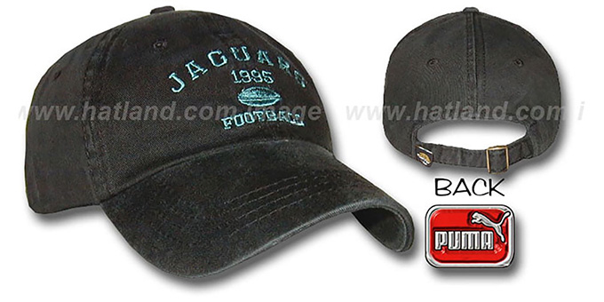 Jaguars 'PUNT' Hat by Puma : pictured without stickers that these products are shipped with