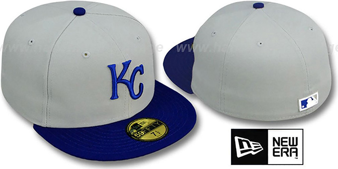 Kansas City Royals 1999 'COOP' ROAD Hat by New Era : pictured without stickers that these products are shipped with