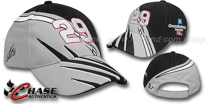 Kevin Harvick 'OVERDRAFT' Hat by Chase : pictured without stickers that these products are shipped with