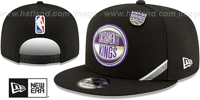wholesale dealer ecb75 7f449 Kings  2019 NBA DRAFT SNAPBACK  Black Hat by New Era
