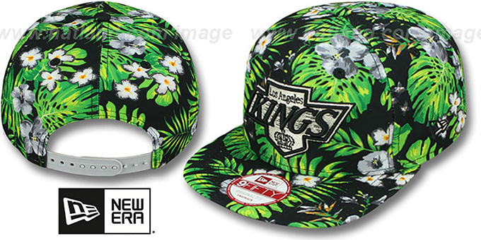Kings 'BLOOM SNAPBACK' Hat by New Era : pictured without stickers that these products are shipped with
