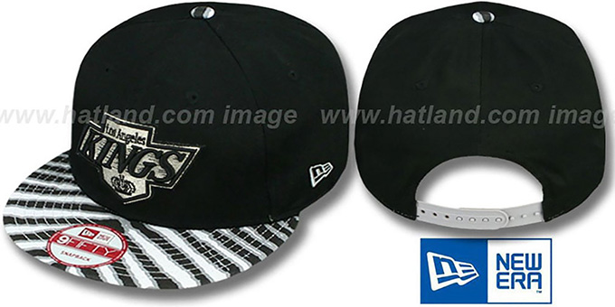 Kings 'ZUBAZ SNAPBACK' Adjustable Hat by New Era : pictured without stickers that these products are shipped with