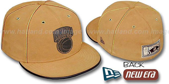 Knicks 'HARDWOOD DaBu' Fitted Hat by New Era : pictured without stickers that these products are shipped with