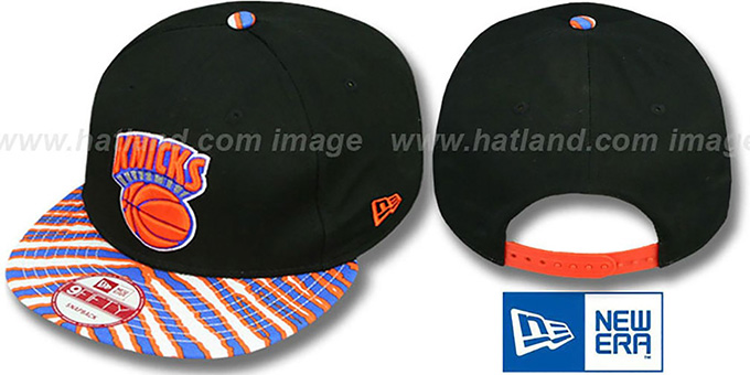 Knicks 'ZUBAZ SNAPBACK' Adjustable Hat by New Era : pictured without stickers that these products are shipped with