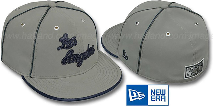 Lakers 'HW GREY DaBu' Fitted Hat by New Era : pictured without stickers that these products are shipped with