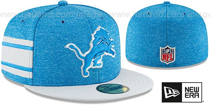 Lions 'HOME ONFIELD STADIUM' Blue-Grey Fitted Hat by New Era