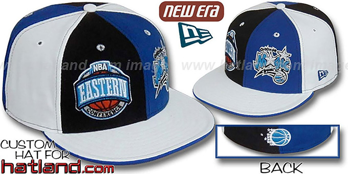 Magic CONFERENCE 'DOUBLE WHAMMY' Fitted Hat by New Era : pictured without stickers that these products are shipped with