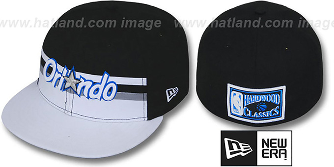 Magic 'HARDWOOD HORIZON' Fitted Hat by New Era : pictured without stickers that these products are shipped with