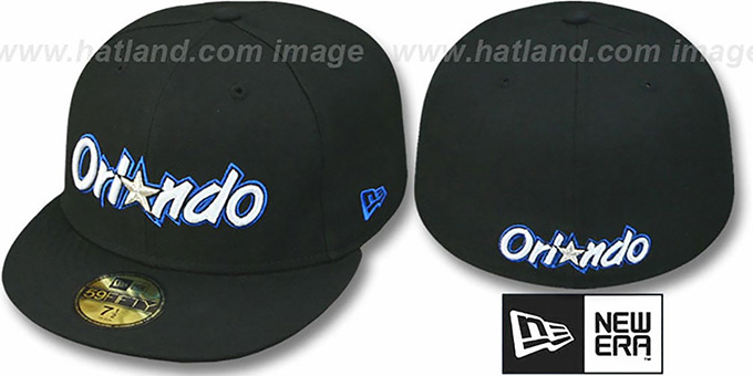 Magic HW 'TEAM-BASIC' Black Fitted Hat by New Era