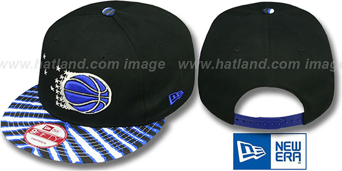 Magic 'ZUBAZ SNAPBACK' Adjustable Hat by New Era : pictured without stickers that these products are shipped with