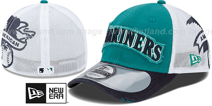 Mariners '2013 CLUBHOUSE' 39THIRTY Flex Hat by New Era : pictured without stickers that these products are shipped with
