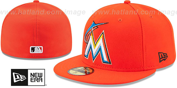 05e5b926661 Miami Marlins 2017 ONFIELD ROAD Hat by New Era