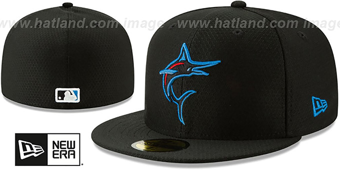 buy online 036a3 bccf5 Marlins  2019 AC-BATTING PRACTICE  Hat by New Era