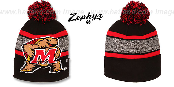 Maryland 'SPLIT BIGGIE LOGO' Knit Beanie Hat by Zephyr