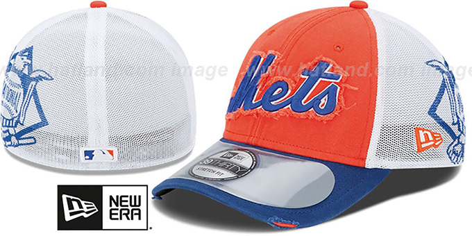 Mets '2013 CLUBHOUSE' 39THIRTY Flex Hat by New Era : pictured without stickers that these products are shipped with
