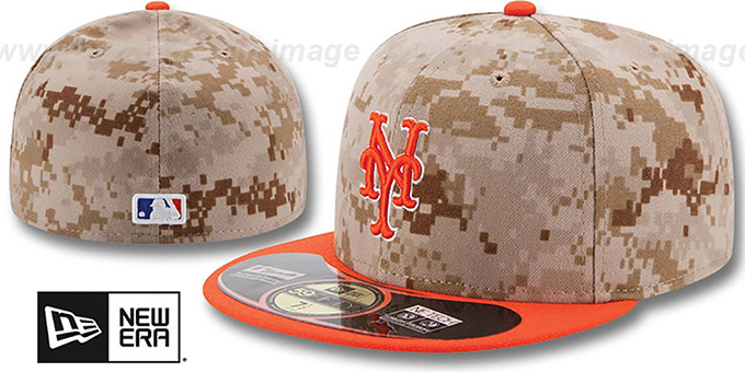 New York Mets 2014 STARS N STRIPES Fitted Hat by New Era 18c71a820ca