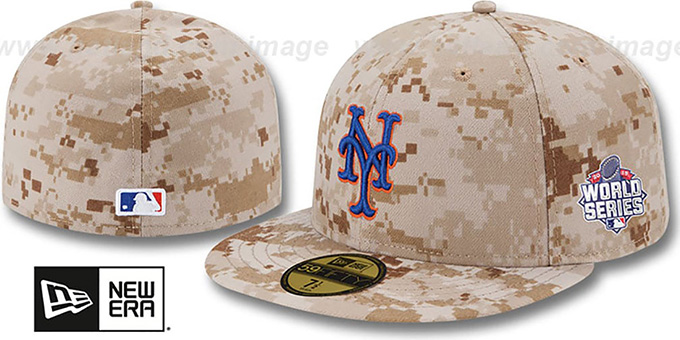 Mets '2015 WORLD SERIES ALTERNATE' Hat by New Era : pictured without stickers that these products are shipped with