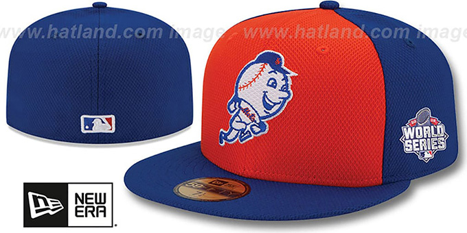 Mets '2015 WORLD SERIES DIAMOND-ERA' Hat by New Era : pictured without stickers that these products are shipped with