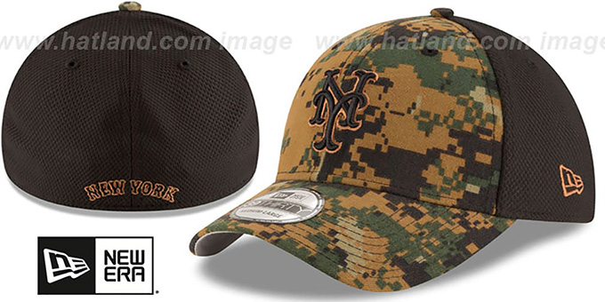 Mets 2016 MEMORIAL DAY 'STARS N STRIPES FLEX' Hat by New Era : pictured without stickers that these products are shipped with