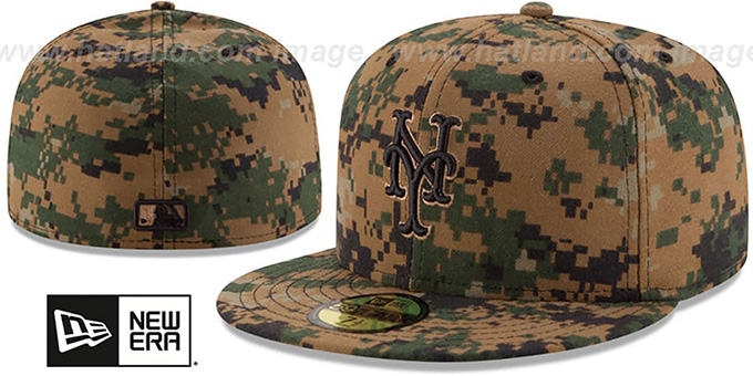 Mets 2016 MEMORIAL DAY 'STARS N STRIPES' Hat by New Era : pictured without stickers that these products are shipped with