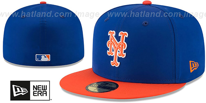 info for 657eb ec68b ... New Era. video available. Mets  2018 PROLIGHT-BP  Royal-Orange Fitted  Hat by ...