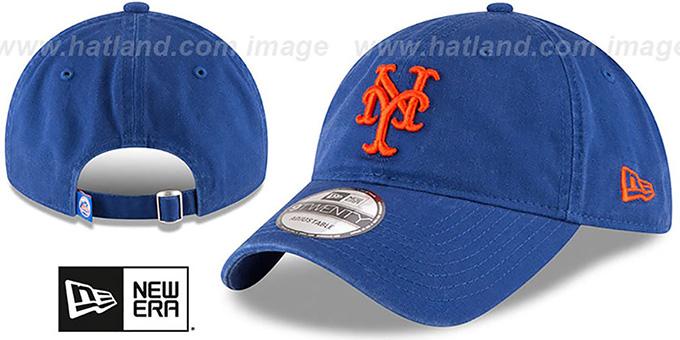 48c74e5e0 New York Mets CORE-CLASSIC STRAPBACK Royal Hat by New Era