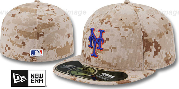 Mets 'PERFORMANCE ALTERNATE' Hat by New Era : pictured without stickers that these products are shipped with