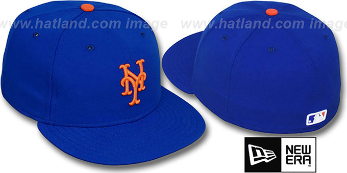 Mets 'PERFORMANCE GAME' Hat by New Era : pictured without stickers that these products are shipped with
