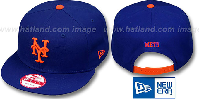 Mets 'REPLICA HOME SNAPBACK' Hat by New Era : pictured without stickers that these products are shipped with