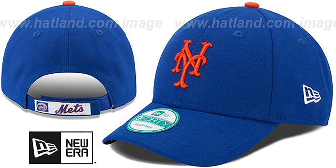 Mets 'THE-LEAGUE HOME STRAPBACK' Royal Hat by New Era