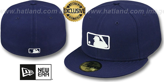 MLB 'UMPIRE FASHION' Navy Hat by New Era : pictured without stickers that these products are shipped with