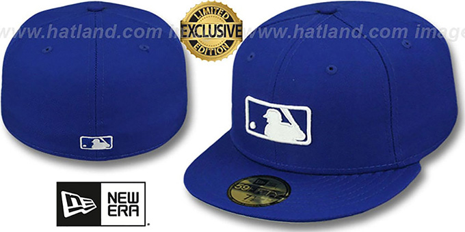 MLB 'UMPIRE FASHION' Royal Hat by New Era : pictured without stickers that these products are shipped with