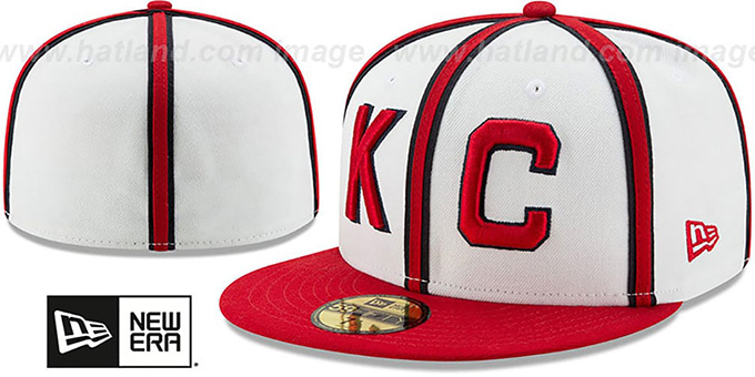 7aa08b26e997c Kansas City Monarchs TURN-BACK-THE-CLOCK Fitted Hat