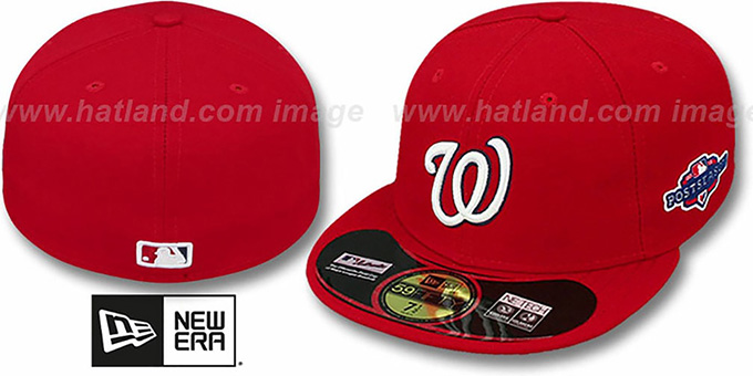 Nationals 2012 'PLAYOFF HOME' Hat by New Era : pictured without stickers that these products are shipped with