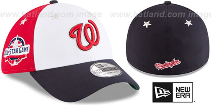 wholesale dealer 63a67 a7109 ... New Era. video available. Nationals  2018 MLB ALL-STAR GAME FLEX  Hat  by ...