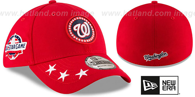 Nationals '2018 MLB ALL-STAR WORKOUT FLEX' Hat by New Era