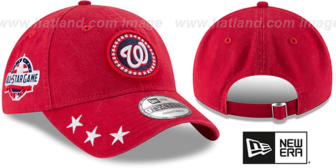 Nationals '2018 MLB ALL-STAR WORKOUT STRAPBACK' Hat by New Era