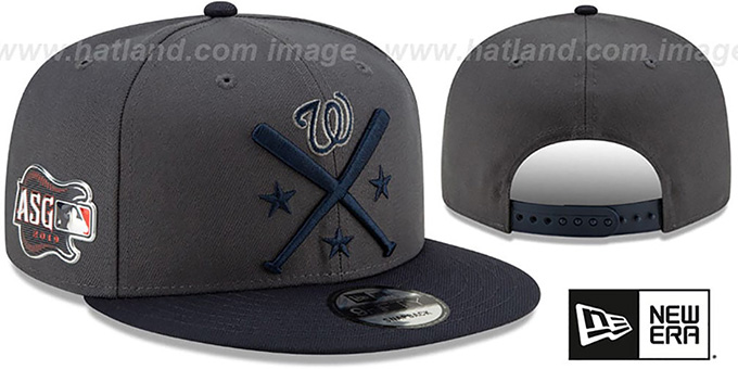 c54ddd61 Nationals '2019 MLB ALL-STAR WORKOUT SNAPBACK' Hat by New Era