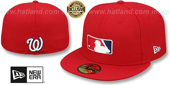 3fd515e29b7a2e ... New Era. exclusive hat! Nationals 'TEAM MLB UMPIRE' Red Hat by ...