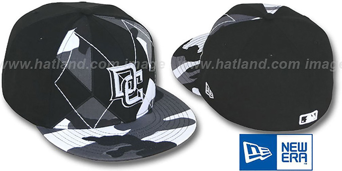 Nationals 'URBAN CAMO BRADY' Fitted Hat by New Era : pictured without stickers that these products are shipped with