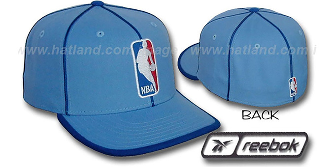 NBA 'WILDSIDE' Fitted Hat by Reebok - columbia : pictured without stickers that these products are shipped with