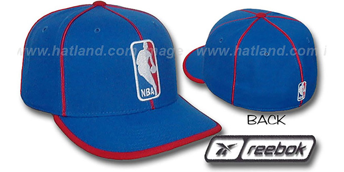 NBA 'WILDSIDE' Fitted Hat by Reebok - royal
